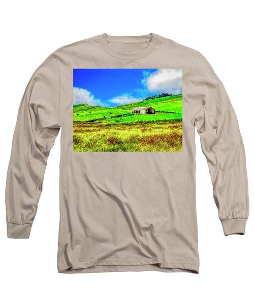Cows Grazing Long Sleeve T-Shirt