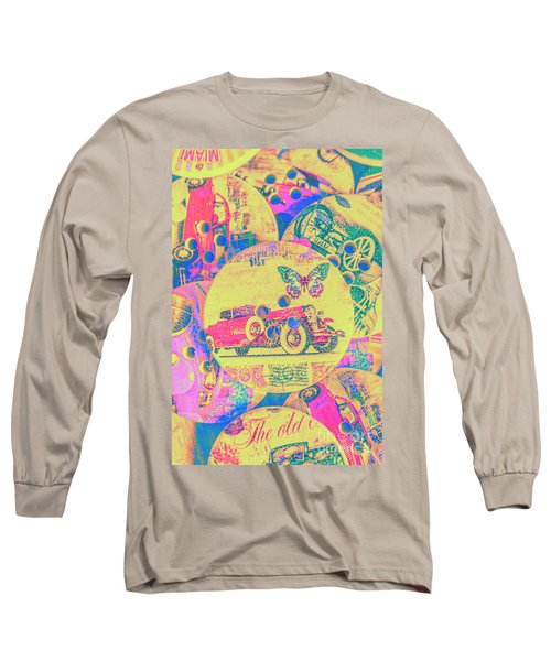 Crafty Car Commercial Long Sleeve T-Shirt