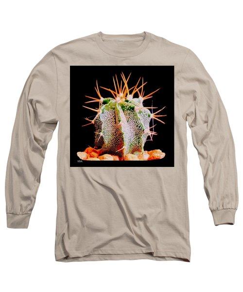 Crazy  Cactus Long Sleeve T-Shirt