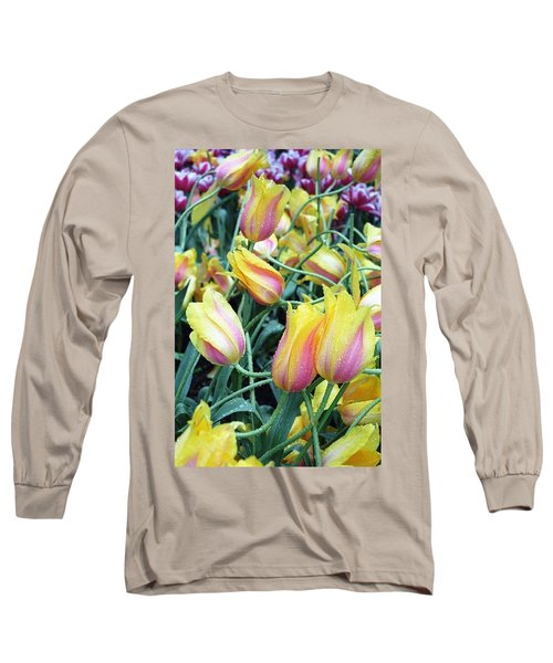Crazy Tulips Long Sleeve T-Shirt
