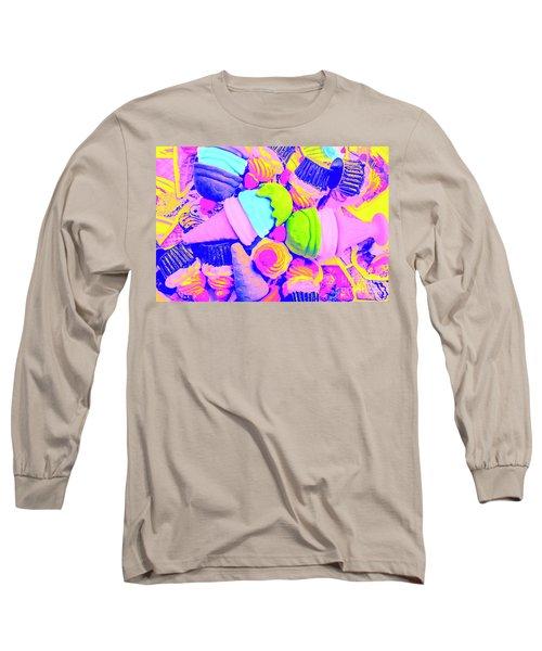 Creme De La Ice-cream Long Sleeve T-Shirt