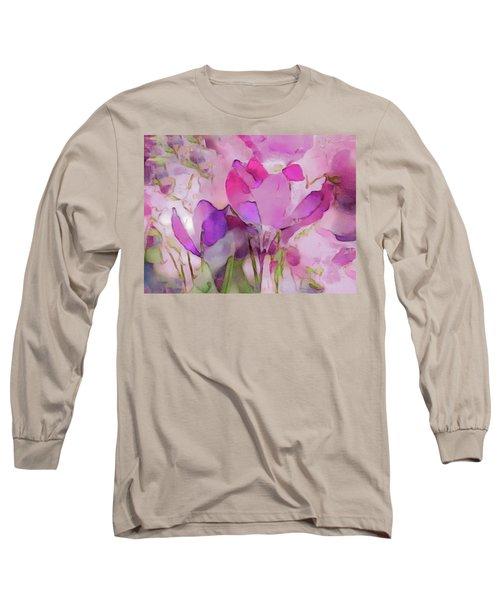 Crocus So Pink Long Sleeve T-Shirt