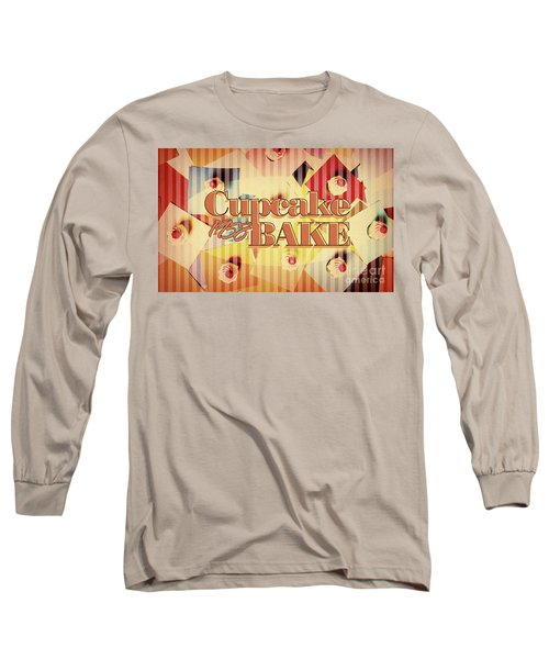 Cupcake Bake 1958 Long Sleeve T-Shirt