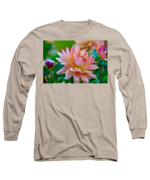Dahlia Splendor Long Sleeve T-Shirt