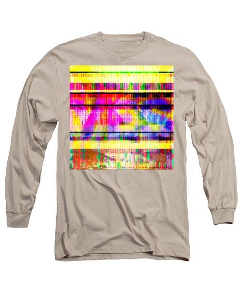 Databending #2 Hidden Messages Long Sleeve T-Shirt