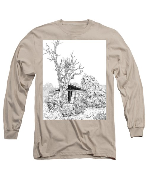 Decay Of Calamity The Half Life Of A Dream Black And White  Long Sleeve T-Shirt
