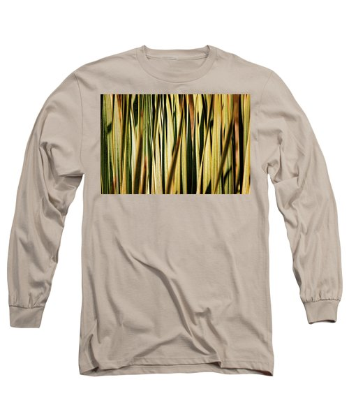 Long Sleeve T-Shirt featuring the photograph Desert Grasses I by Leda Robertson