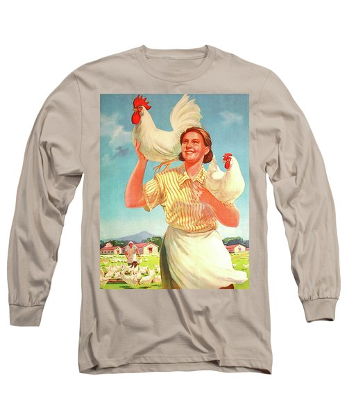 Develop Your Chicken Farm Long Sleeve T-Shirt