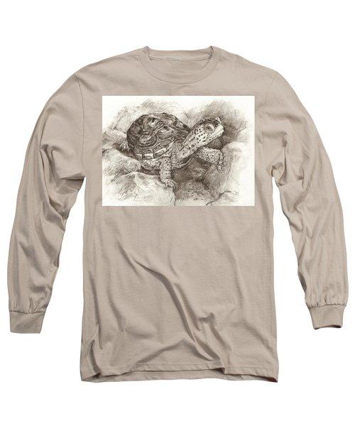 Diamondback Terrapin Long Sleeve T-Shirt