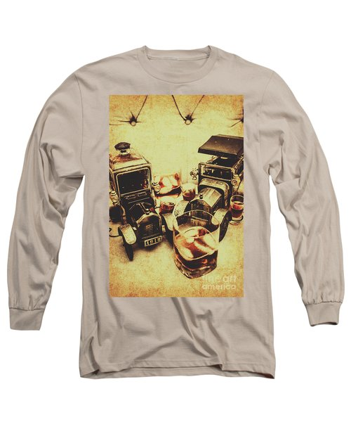 Distillery Decor Long Sleeve T-Shirt