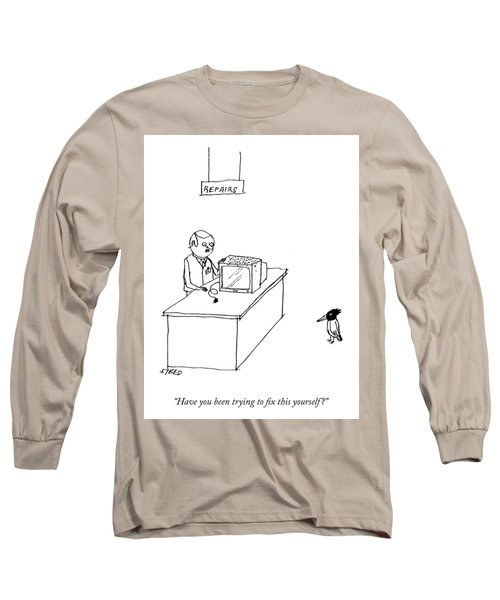 Do It Yourself Television Repair Long Sleeve T-Shirt