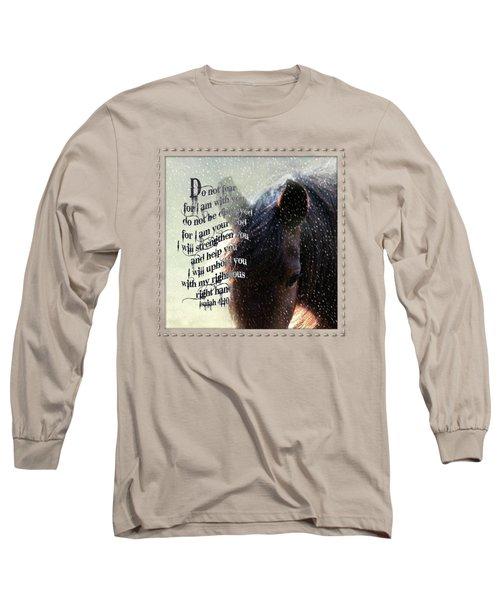 Do Not Fear - Verse Long Sleeve T-Shirt
