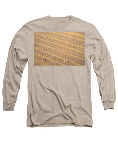 Dot Matrix Long Sleeve T-Shirt