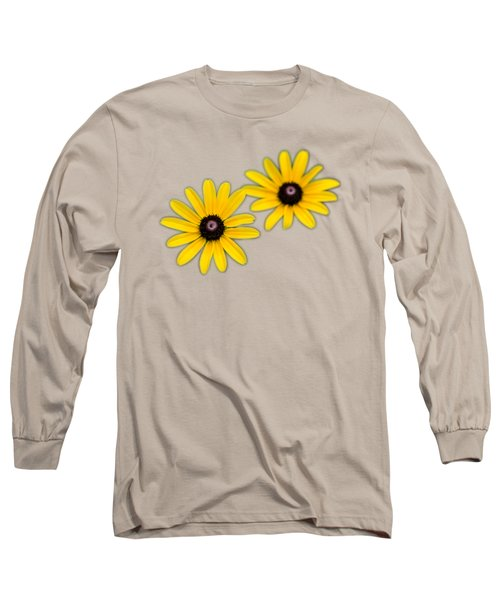 Double Daisies Long Sleeve T-Shirt