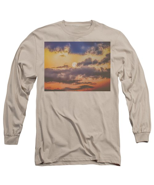 Dreamy Moon Long Sleeve T-Shirt