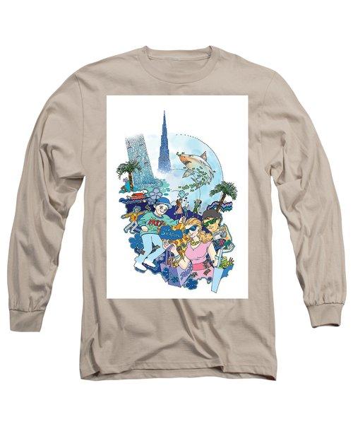 Dubai Mall  Long Sleeve T-Shirt