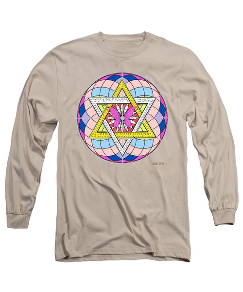 Eager Soul Portrait Long Sleeve T-Shirt
