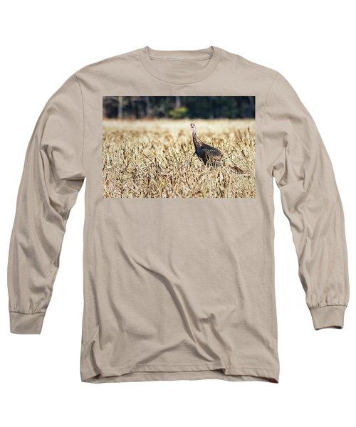 Eastern Wild Turkey Long Sleeve T-Shirt