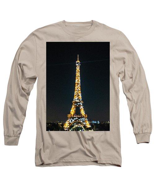 Long Sleeve T-Shirt featuring the photograph Eiffel Tower by Randy Scherkenbach