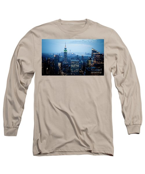 Empire In Blue Long Sleeve T-Shirt