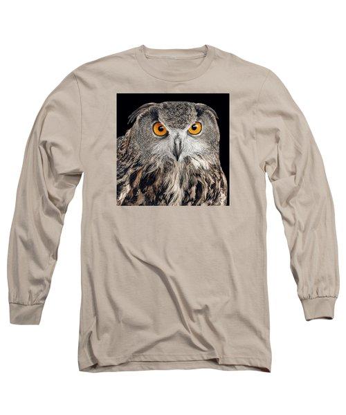 Eurasian Eagle Owl Long Sleeve T-Shirt