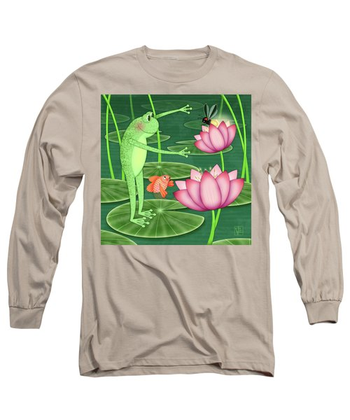 F Is For Frog Long Sleeve T-Shirt