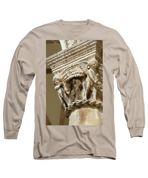 Figures On Capitals Of The Rector's Palace Long Sleeve T-Shirt