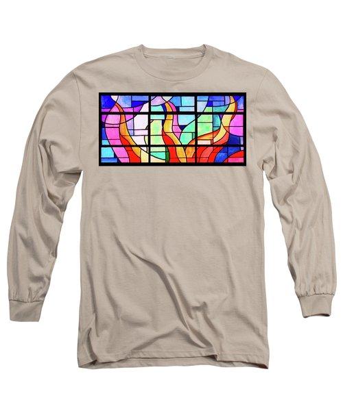 Flames Long Sleeve T-Shirt