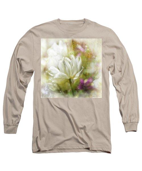 Floral Dust Long Sleeve T-Shirt