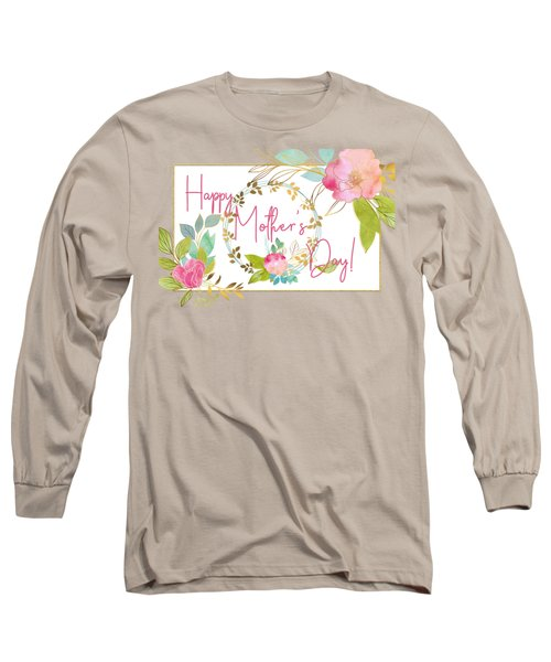 Floral Mother's Day Art Long Sleeve T-Shirt