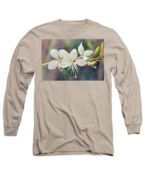 Long Sleeve T-Shirt featuring the photograph Floral Palette II by Leda Robertson