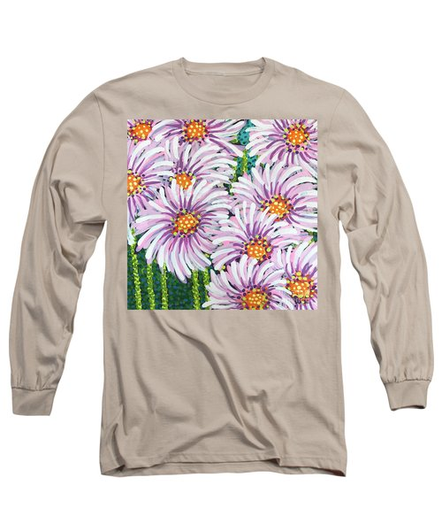 Floral Whimsy 1 Long Sleeve T-Shirt
