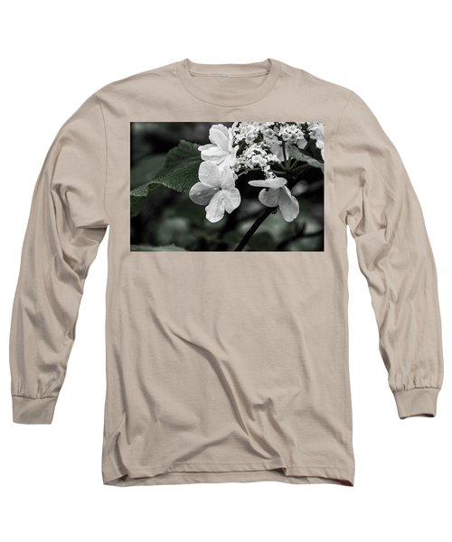 Flower And Rain Drops  8645 Long Sleeve T-Shirt
