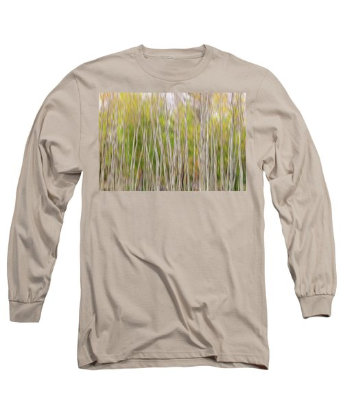 Long Sleeve T-Shirt featuring the photograph Forest Twist And Turns In Motion by James BO Insogna