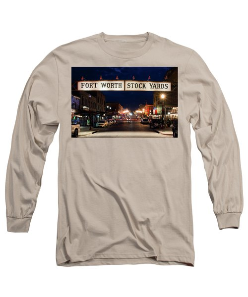 Fort Worth Stock Yards 112318 Long Sleeve T-Shirt