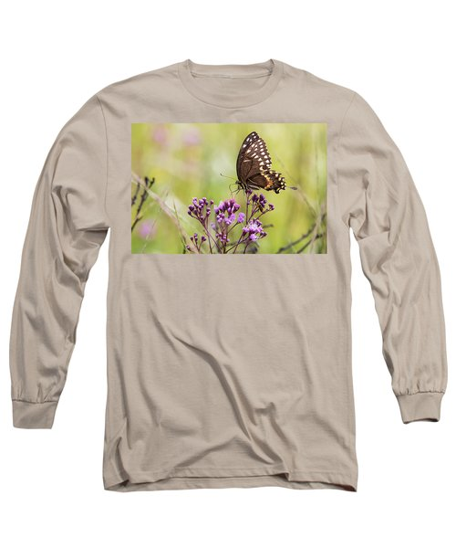 Fragile Wings Long Sleeve T-Shirt