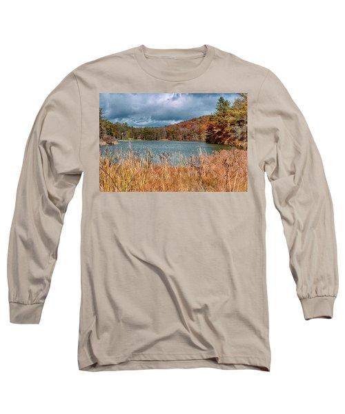 Framed Lake Long Sleeve T-Shirt