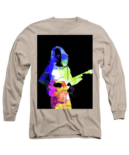 Frank Watercolor II Long Sleeve T-Shirt