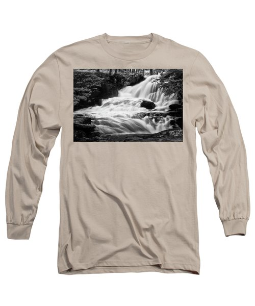 French Alps Stream Long Sleeve T-Shirt