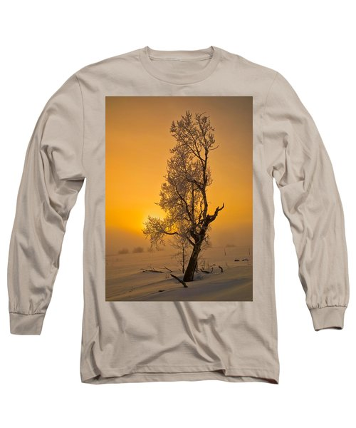 Frosted Tree Long Sleeve T-Shirt