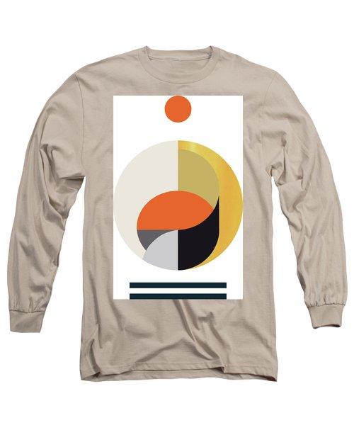 Geometric Painting 12 Long Sleeve T-Shirt