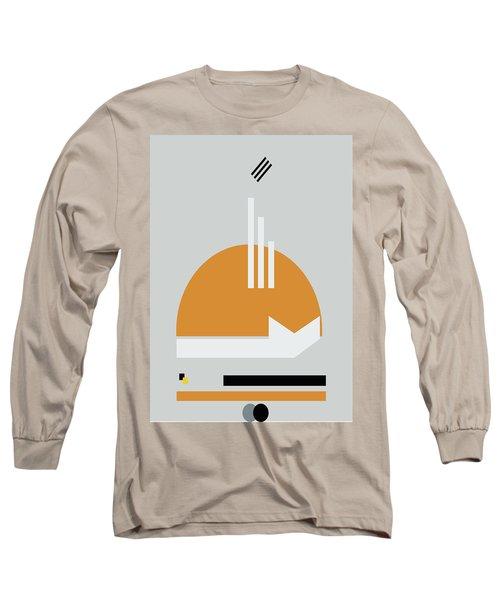 Geometric Painting 8 Long Sleeve T-Shirt
