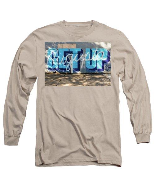 Get Up Augusta Ga Mural  Long Sleeve T-Shirt