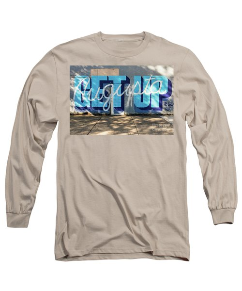 Get Up Augusta Ga Mural  Long Sleeve T-Shirt
