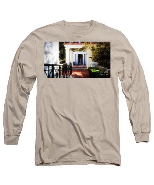 Getty Exterior Landscape Architecture  Long Sleeve T-Shirt