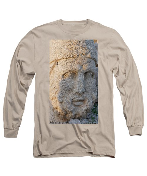 Giant Head Of Heracles,  Tumulus Long Sleeve T-Shirt