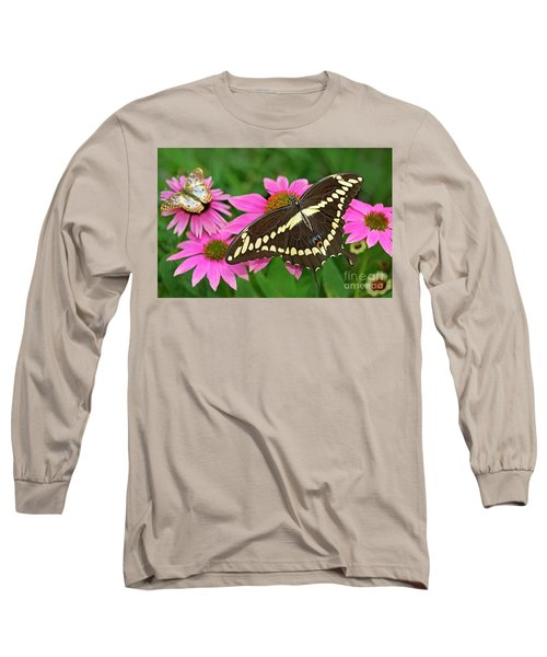 Giant Swallowtail Papilo Cresphontes Long Sleeve T-Shirt