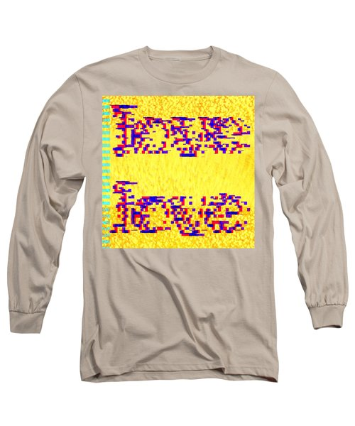 Glitched Love Long Sleeve T-Shirt