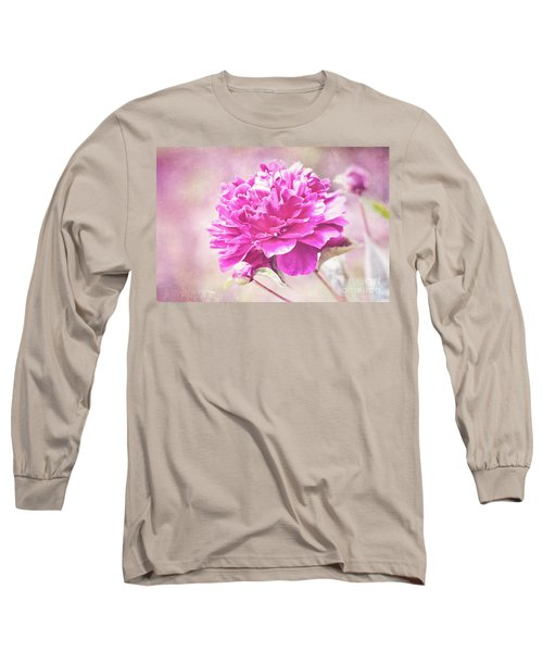 Glorious Pink Peony Long Sleeve T-Shirt