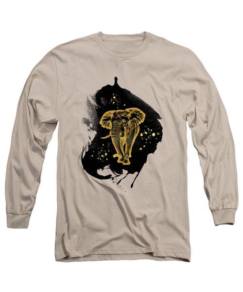 Golden Elephant Long Sleeve T-Shirt